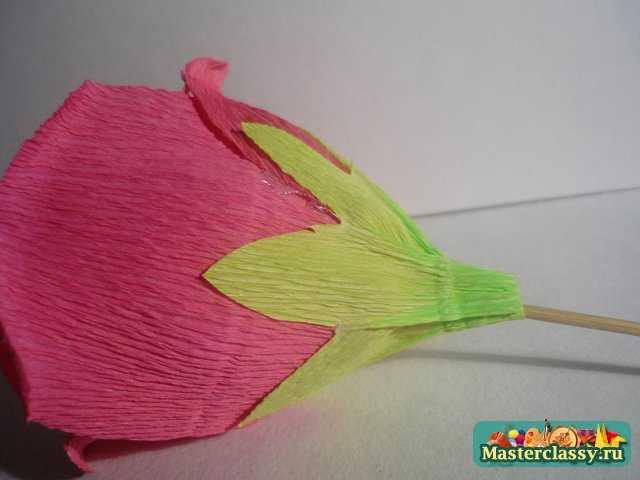 цветы из бумаги букет из конфет