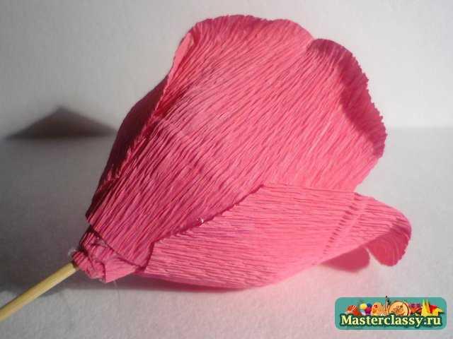 поделки из бумаги букет из конфет