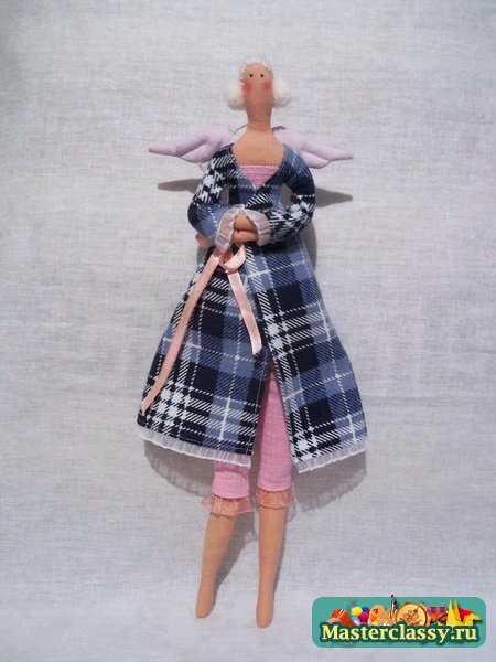 кукла тильда в халате своими руками