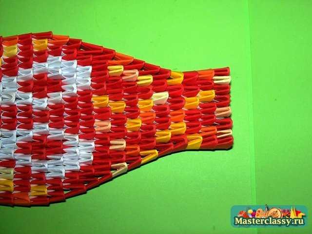 Бисероплетение схема объемной змеи кобры.