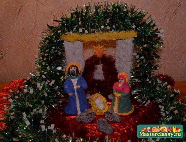 Рождественские поделки. Композиция