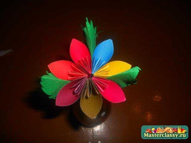 Как сделать из бумаги цветик семицветик своими руками