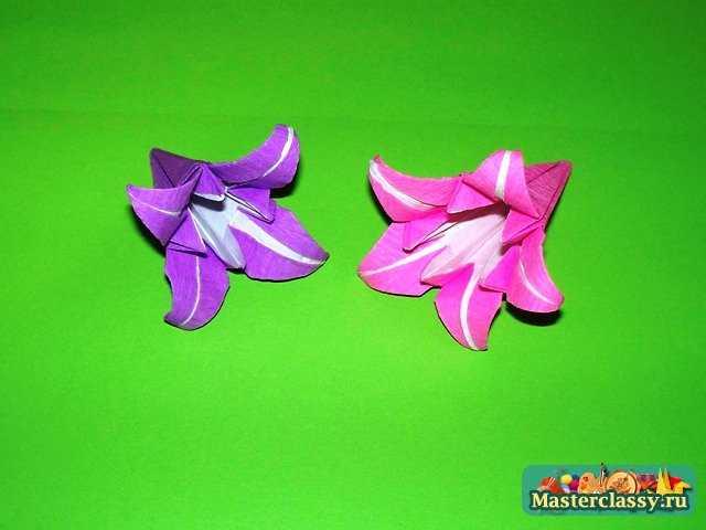Для изготовления лилии в 5