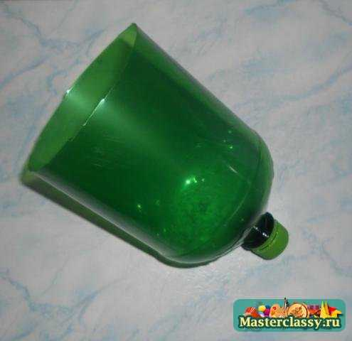 Поделки из пластиковых бутылок. Пасхальная корзинка
