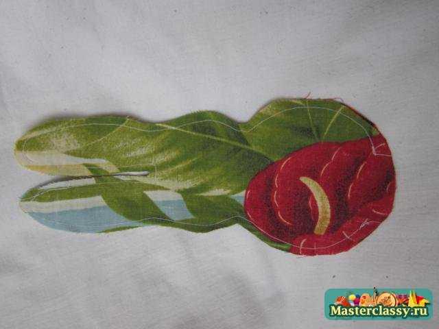 Цветочек с ручками рисунок