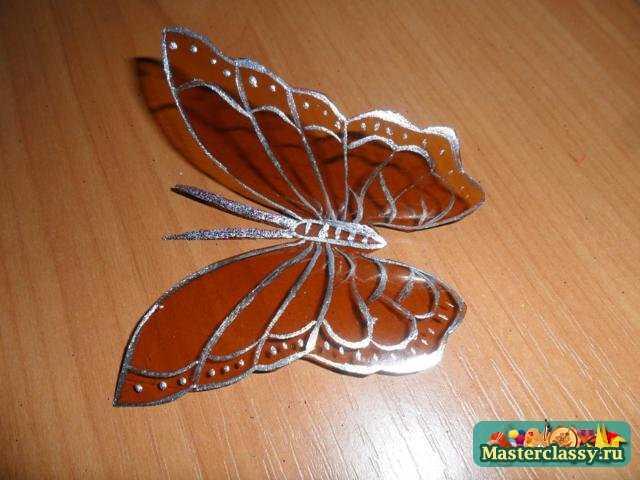 Бабочки из пластиковых бутылок своими руками мастер