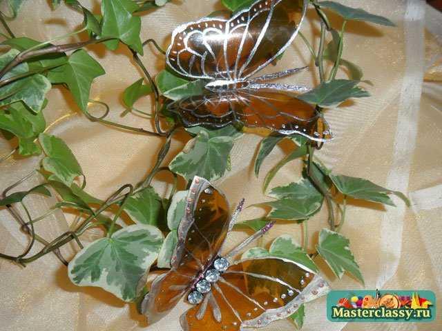 бабочки из бутылки