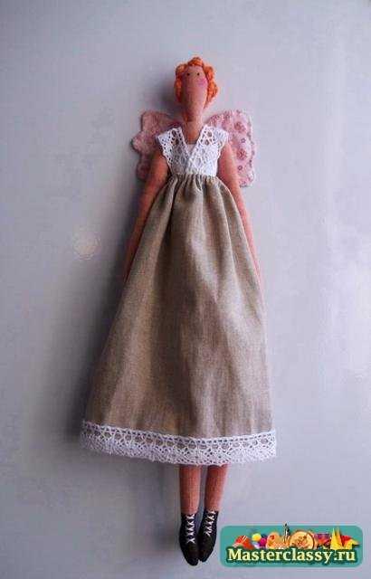 Куклы Тильда. Деревенский Ангел