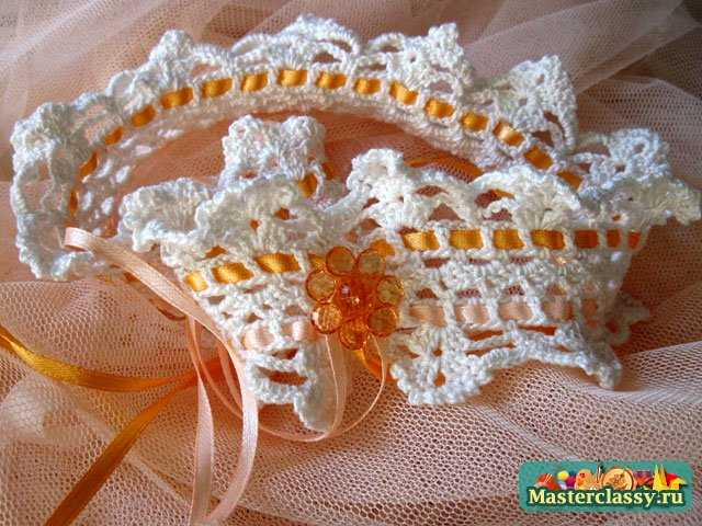 Свадебный Мастер класс. Подвязка для невесты