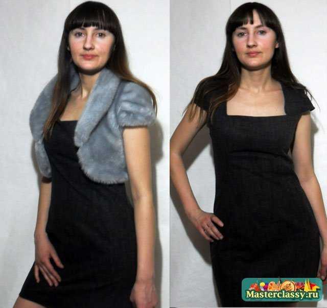 Маленькое серое платье. Мастер класс по пошиву