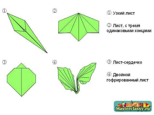 оригами растение (например