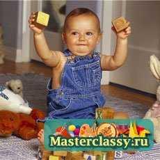 Развивающие игрушки для детей до года своими руками