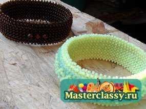 браслеты из бисера мастер класс - Уроки по рукоделию.