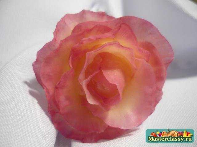 Роза из холодного фарфора. Простой рецепт холодного фарфора