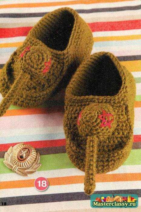 Вязание детям на зиму. Носки, пинетки и варежки