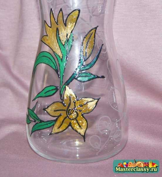 стекло – роспись по стеклу