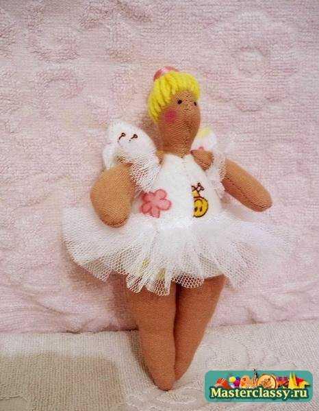 Кукла Тильда Балерина. Мастер класс