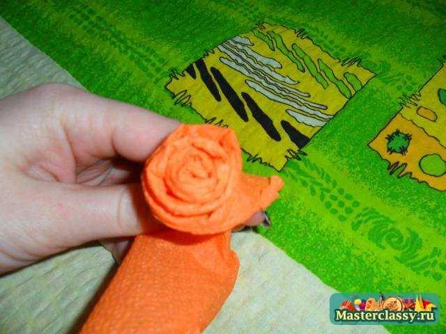 Розы из полотенец своими руками мастер класс 100