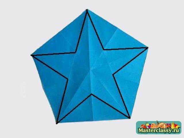 Пятиугольник оригами