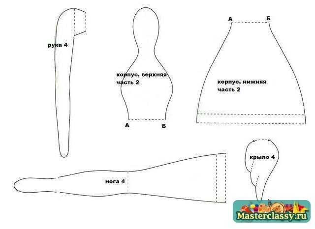 Куклы тильды выкройки чертежи