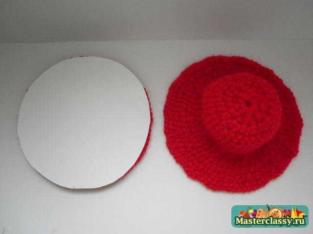 Игольница - шляпа. Мастер класс по вязанию