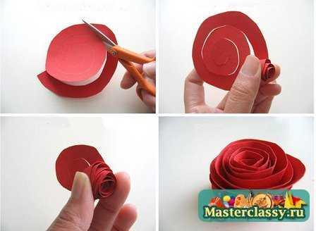 Как сделать розу