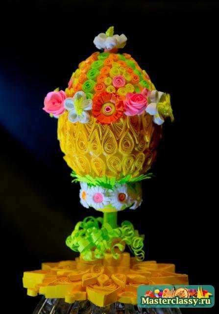 Яйца фаберже квиллинг мастер класс идеи #7