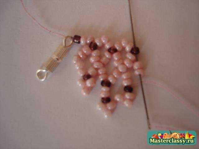 Ожерелье из бисера своими руками Мастер класс.