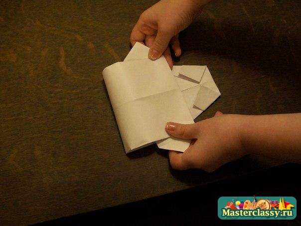 Рубашка оригами. Мастер класс