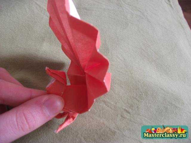 Оригами из одного листа.