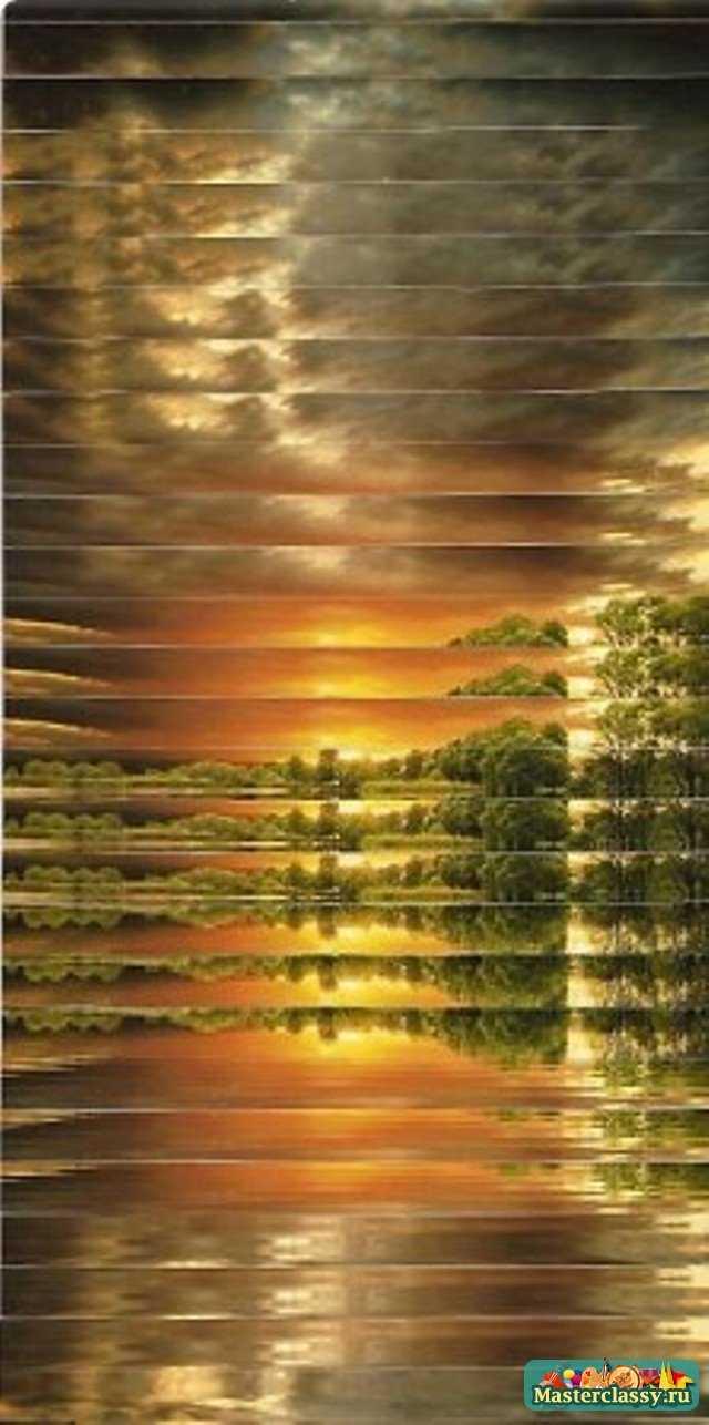 схема елки айрис фолдинг