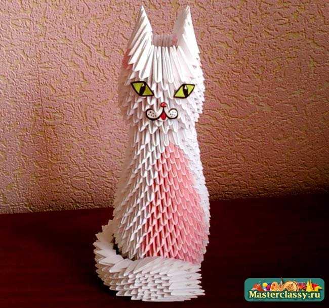 Кошечка Лизон. Оригами мастер