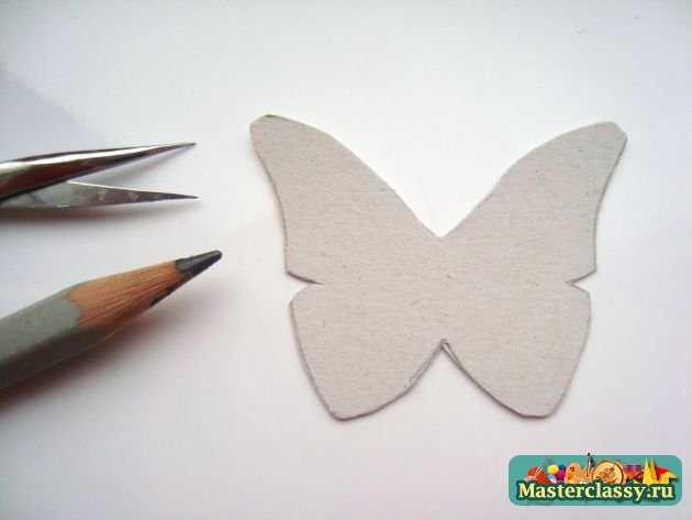 Как сделать бабочек из картона