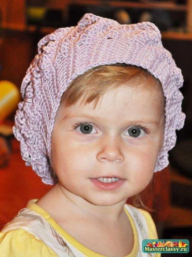 Вязание шапочки для детей