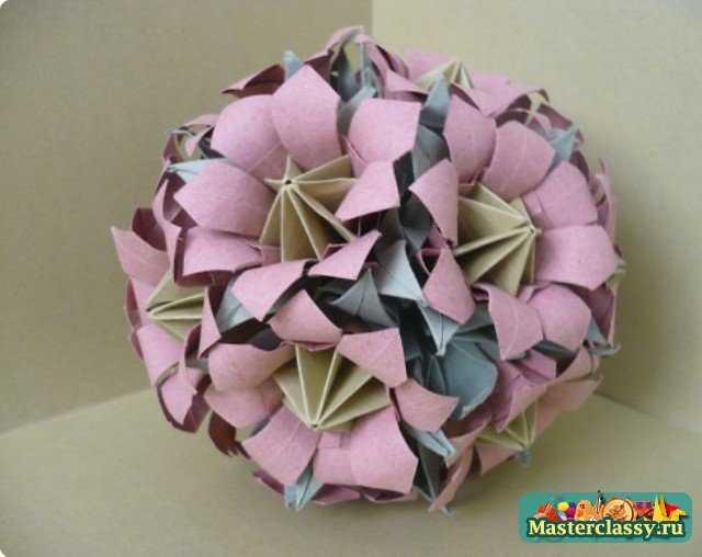 Цветы кусудамы