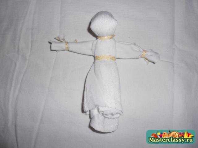 Маленькая кукла мотанка пошагово 183