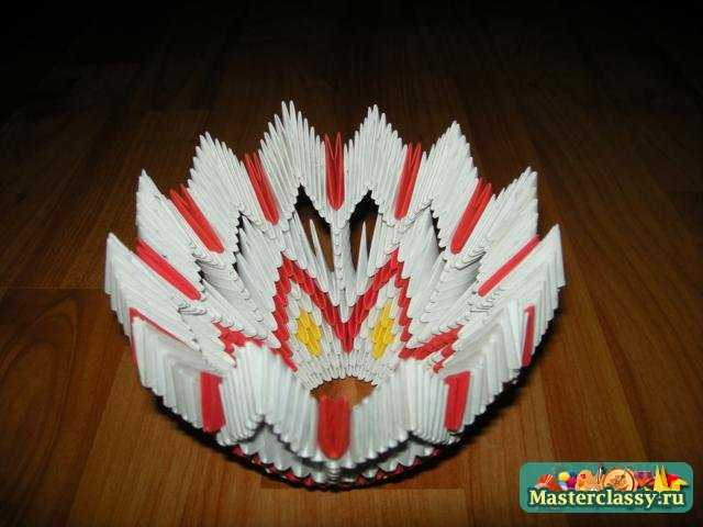 Оригами мастер класс конфетница