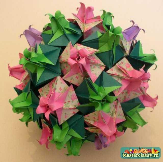 Оригами кусудама схемы вы