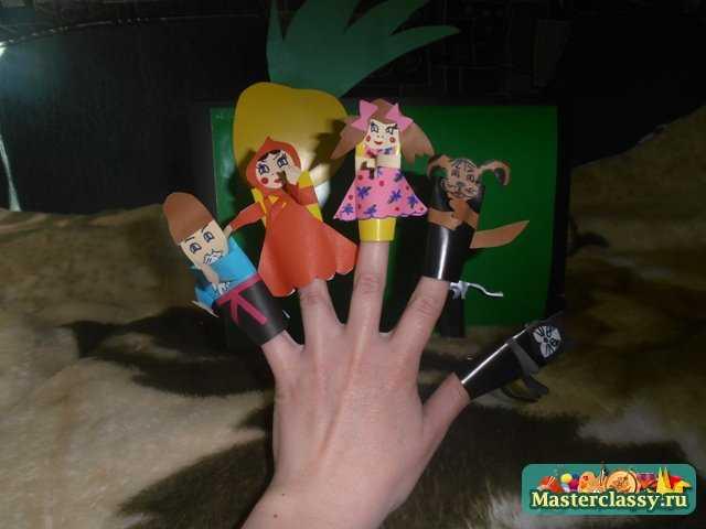 Пальчиковый кукольный театр по мотивам сказки «Репка». Мастер класс с фото