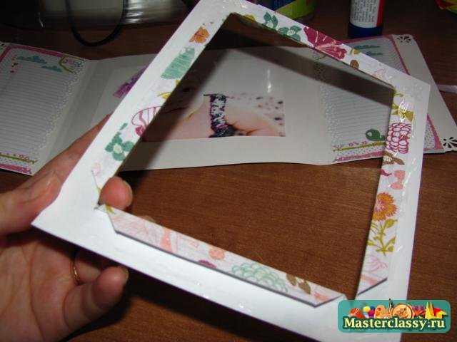 Фоторамки своими руками из открыток