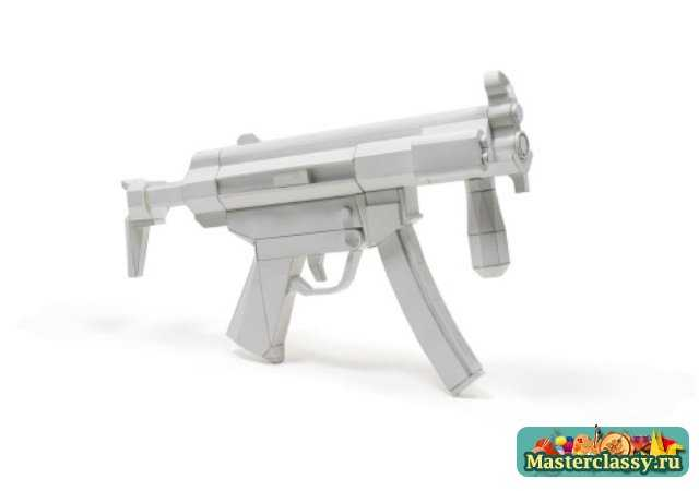 Пистолет из бумаги