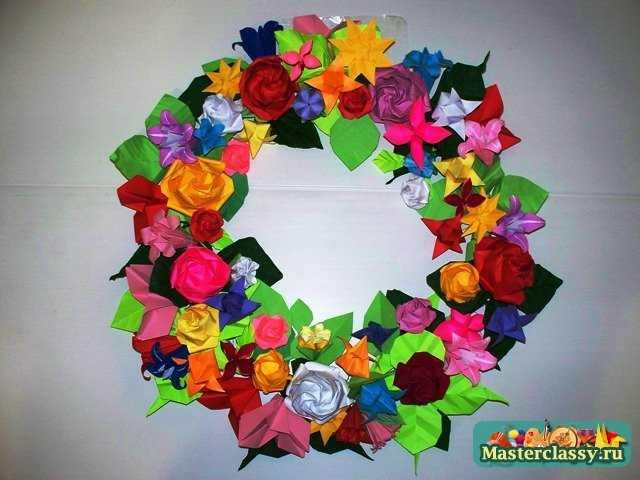 Легкие цветы из бумаги своими руками фото