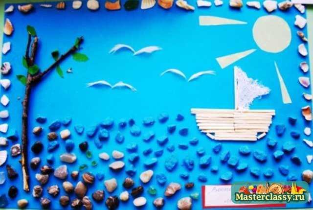 Летние поделки для детского сада 4 года