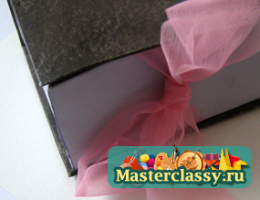 Коробочка с фото для подарка своими руками