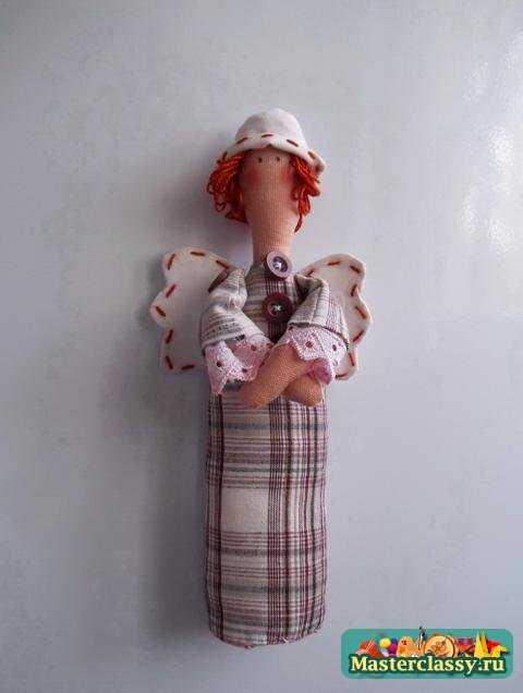 Куклы Тильда. Стоящий Ангел Rasmussen. Мастер класс