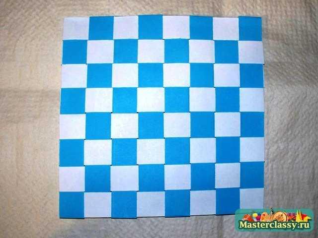 Видео как сделать коврик из бумаги 2 класс технология