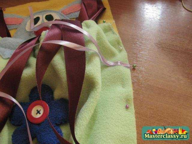Детские игрушки своими руками. Кармашки - развивающие. Мастер класс с пошаговыми фото