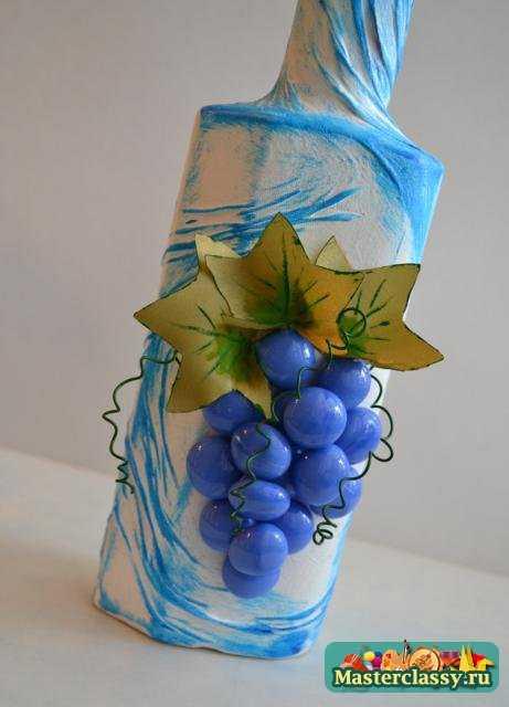 Декор для начинающих пошагово с фото бутылки мастер класс