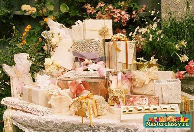 Подарки на свадьбу сделанные своими руками