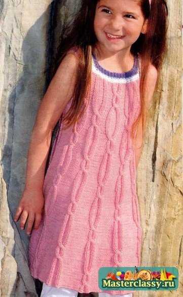 Автор:Admin. вязание осенних сарафанов для девочек спицами.